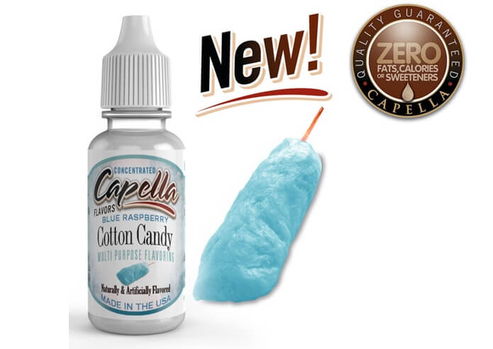 capella flavors Blue Raspberry Cotton Candy画像