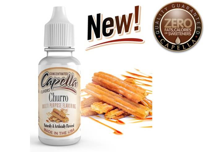 capella flavor Churro