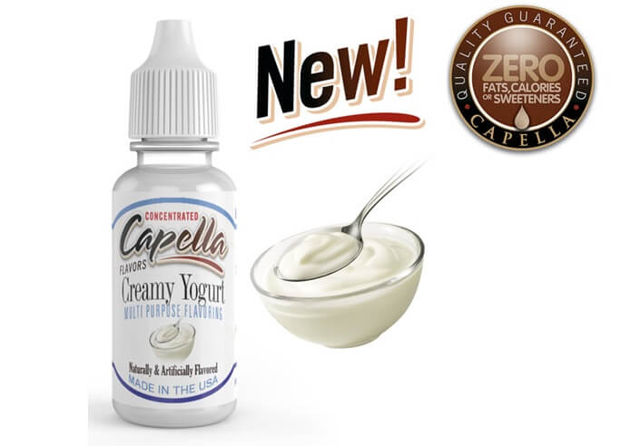 capella flavor Creamy Yogurt