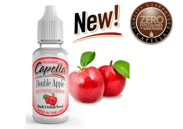 capella flavor Double Apple