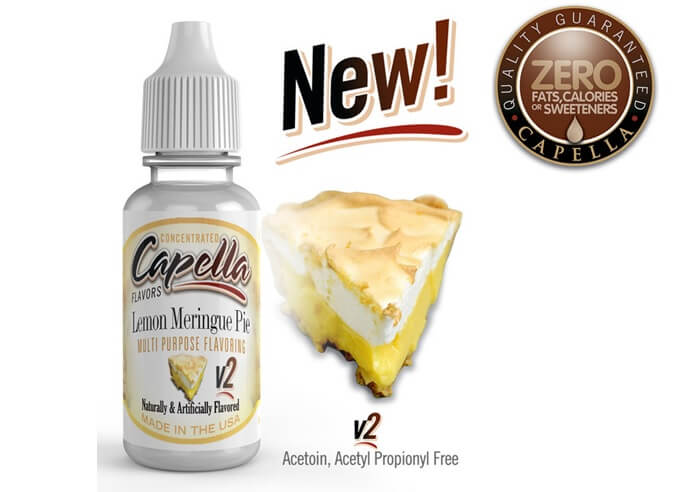 capella flavors Lemon Meringue Pie v2画像