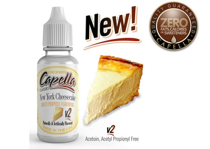 capella flavors New York Cheesecake v2画像