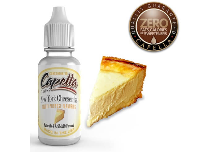 capella flavorsNew York Cheesecake画像