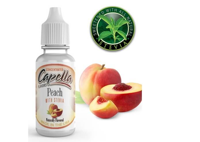 capella flavo Peach with Stevia画像