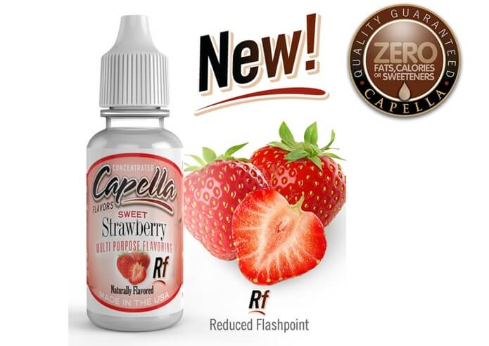 capella flavo Sweet Strawberry Rf画像