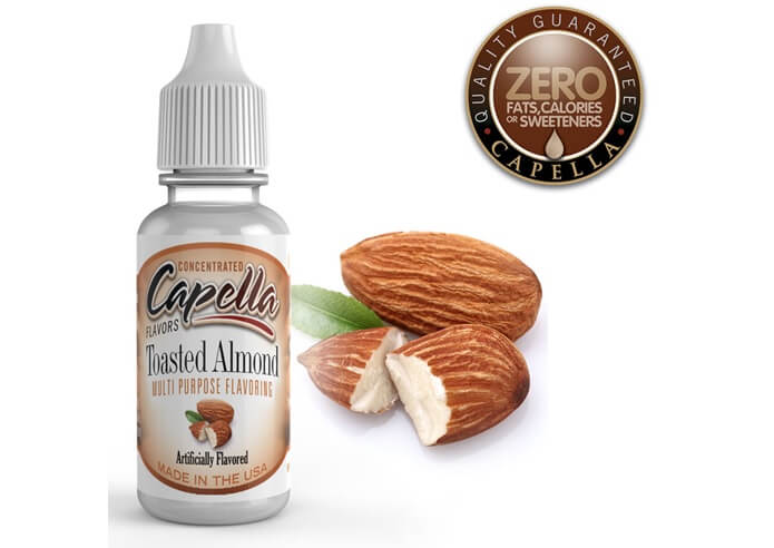 capella flavors Toasted Almond画像
