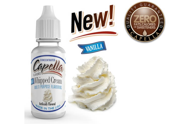 capella flavors Vanilla Whipped Cream